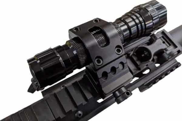 Oper8 25-30mm Angled Torch Rail mount