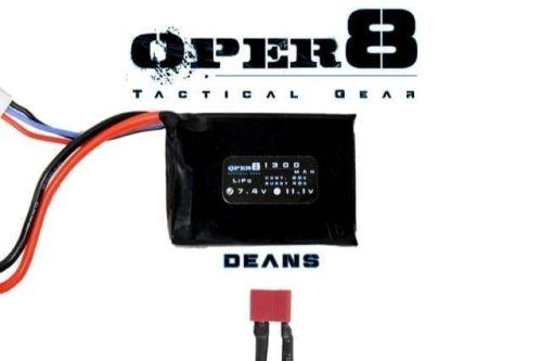 oper8 7 4v 1300 peq deans Oper8 7.4v Mini 1300MAH - Deans