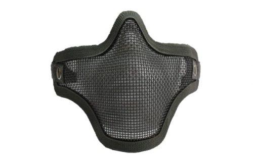 Oper8 Face Mesh Mask Twin Strap - Grey