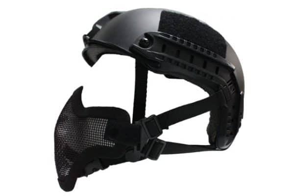 oper8 fast helmet mask black 2 Oper8 Mesh Mask for fast helmet - Black