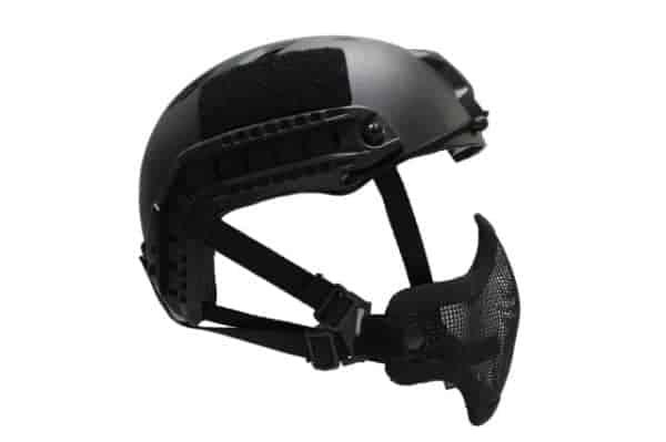 oper8 fast helmet mask black 3 Oper8 Mesh Mask for fast helmet - Black