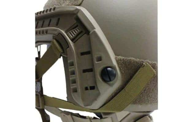 oper8 fast helmet mask tan 5 Oper8 Mesh Mask for fast helmet - Tan