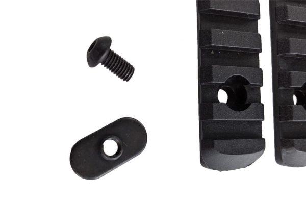 Oper8 MOE/M-Lok polymer 20mm rail set - Black