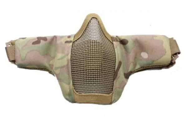 oper8 slimline padded lower mask mec 1 Oper8 Twin strap slimline mesh mask (MEC)
