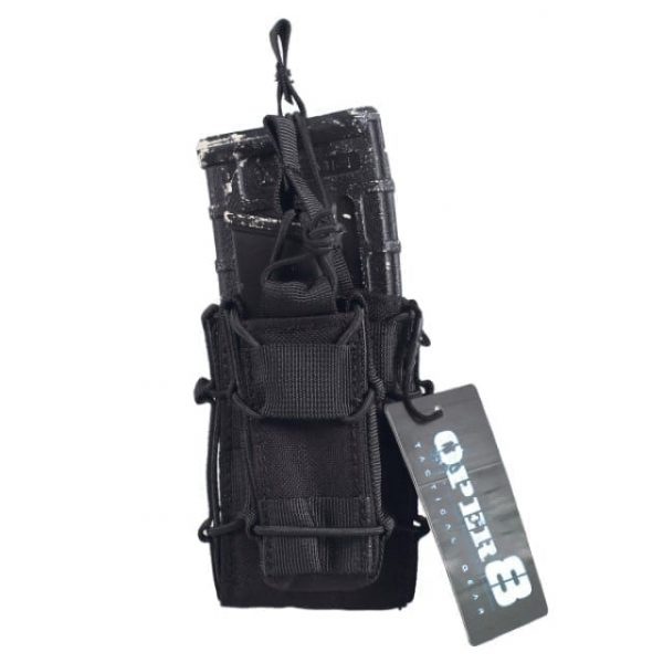 Oper8 'Stack' Dual AR And Pistol Mag Pouch (Black)