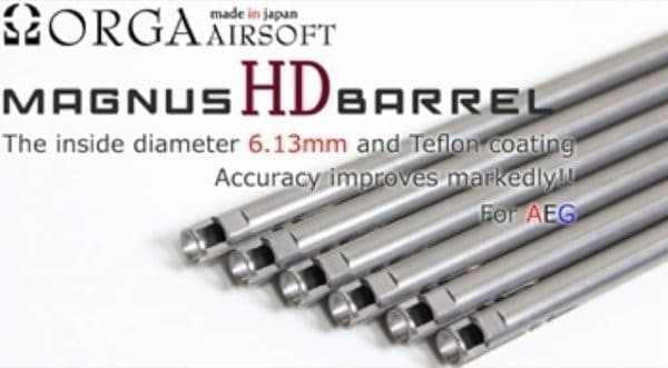 Orga MagnusHD 6.13 Widebore Barrel for AEG -303mm