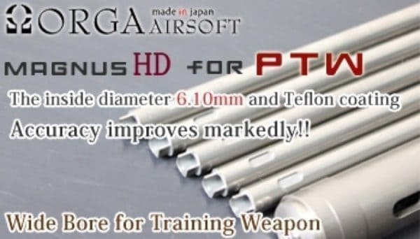 Orga MagnusHD Barrel for PTW 448mm 16 inch