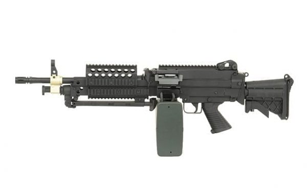 p j m249 mk46 support weapon 1 A&K M249 MK46 support weapon AEG