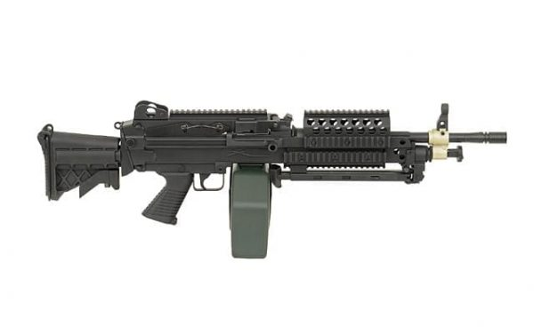 p j m249 mk46 support weapon 2 A&K M249 MK46 support weapon AEG