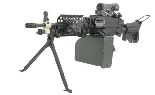 p j m249 mk46 support weapon 3 A&K M249 MK46 support weapon AEG