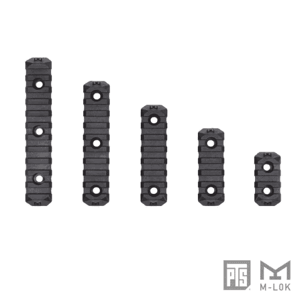 PTS Enhanced Rail 9 slot Section ERS - M-LOK