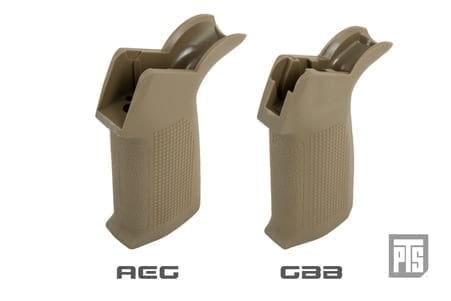 PTS Enhanced Polymer Grip (EPG) - AEG Tan