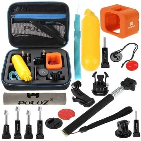 PULUZ 18 in 1 Accessories Combo Kit with EVA Case