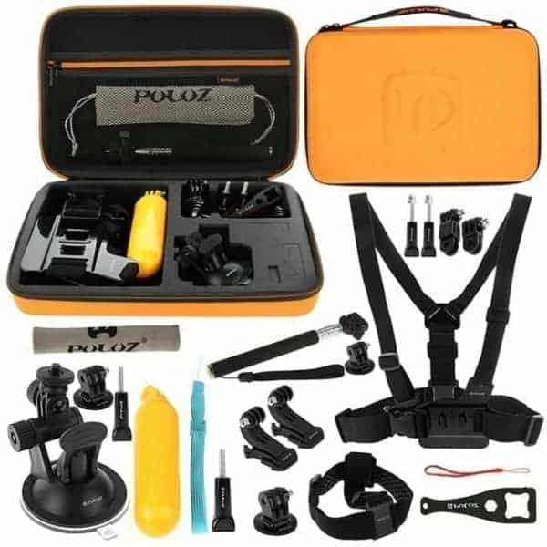 PULUZ 20 in 1 Accessories Combo Kit for Go pro / Action Camera