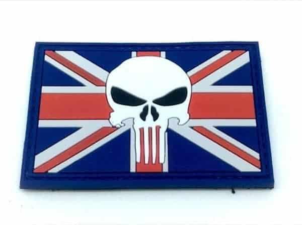 Punisher Union Flag/Jack patch