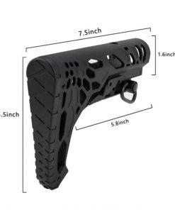Python style skeleton Mil-spec stock