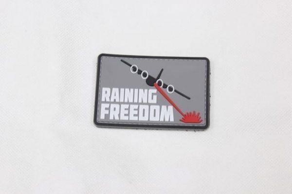 Raining Freedom velcro morale patch
