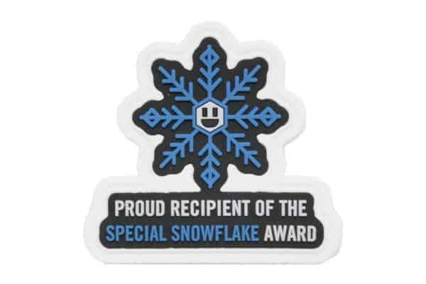 Snow Flake Award Morale patch