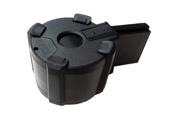 SAIGO M4 AEG 1000 round drum/box magazine - Electric