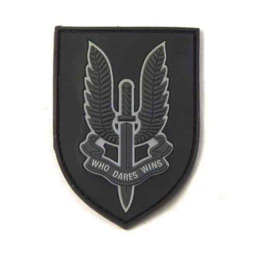 SAS Who dares wins patch (Black)