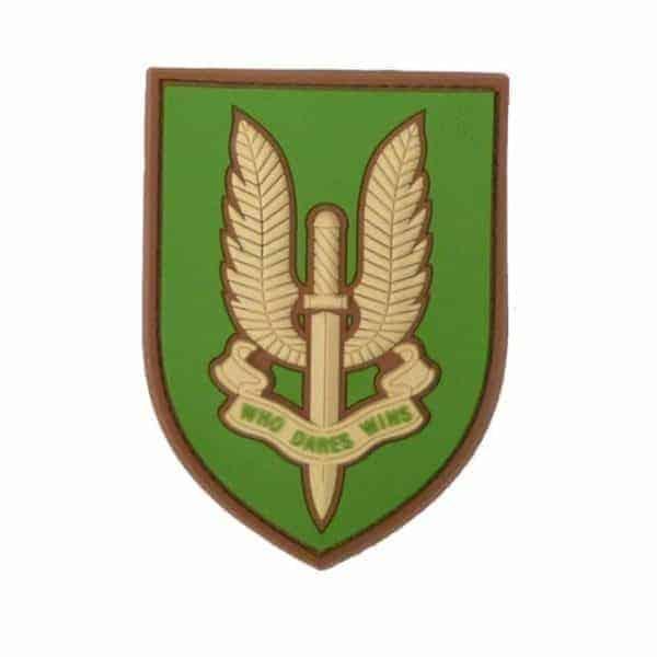 SAS Who dares wins patch (Green & Tan)