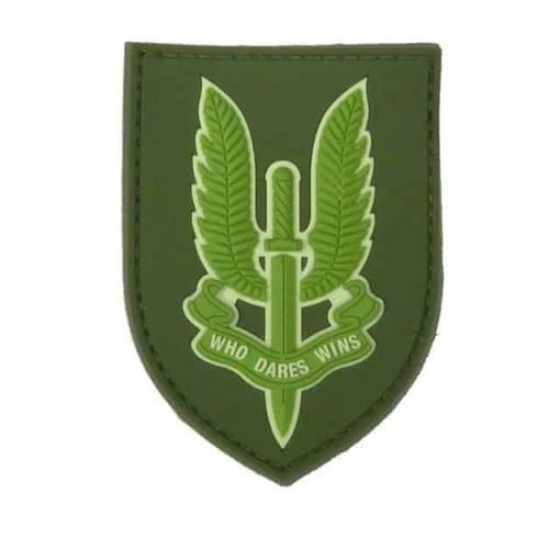 SAS Who dares wins patch (Olive)
