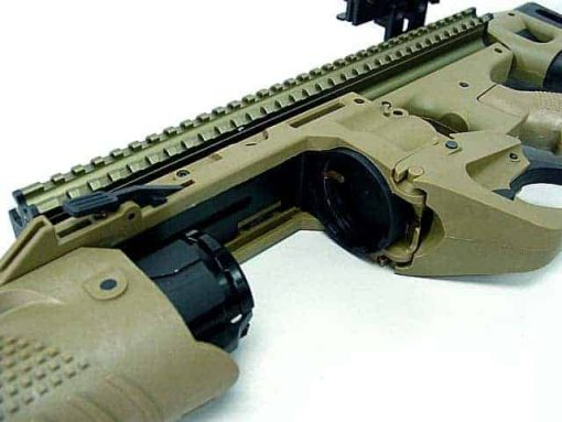 Airsoft EGLM 40mm SCAR Stand Alone Grenade Launcher Tan