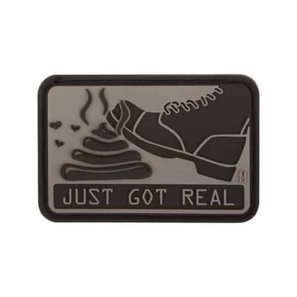 Just Got Real morale patch (Black)