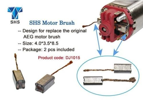 SHS Replacement motor Brushes