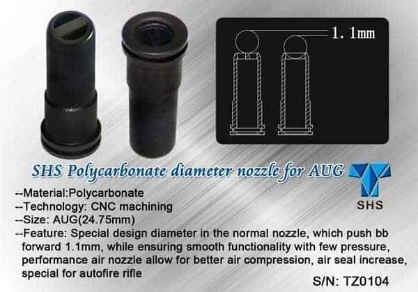 SHS AUG air nozzle 24.75mm
