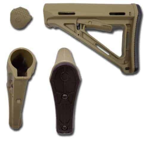SHS MOE Style M4/M16 Stock - Tan