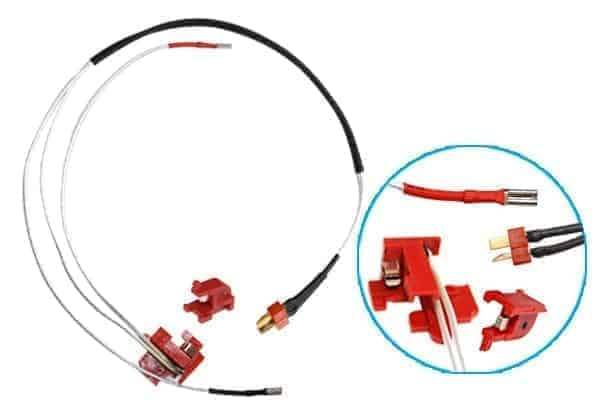 SHS v2 gearbox wiring loom with deans