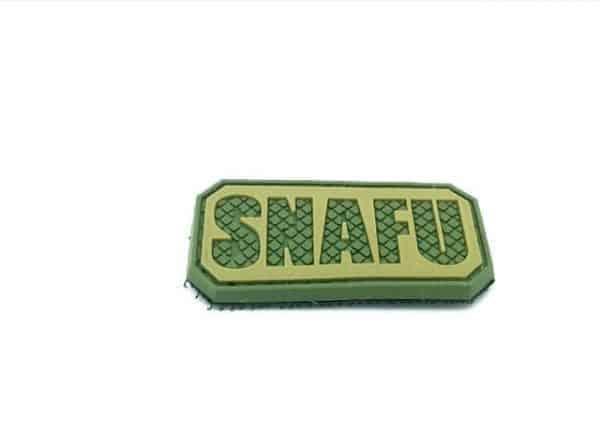 SNAFU Morale patch (Green)
