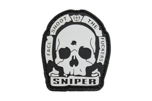 Sniper Face Shoot The F**kers  Morale Patch