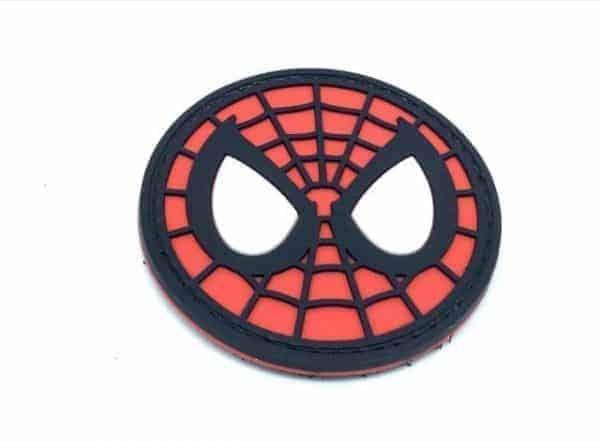Spiderman circular webhead marvel patch