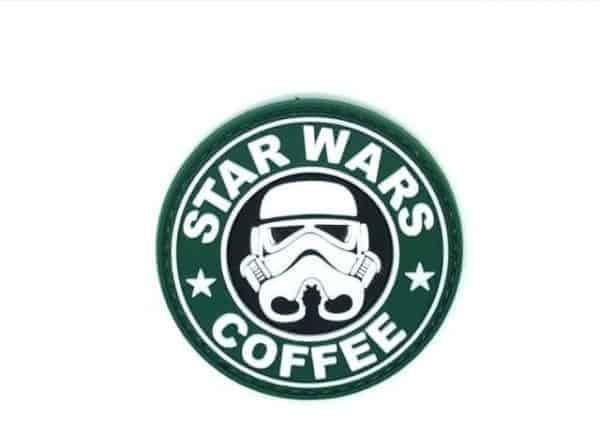 Star Wars & Coffee morale patch (Green)