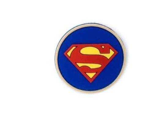 Superman logo round morale patch