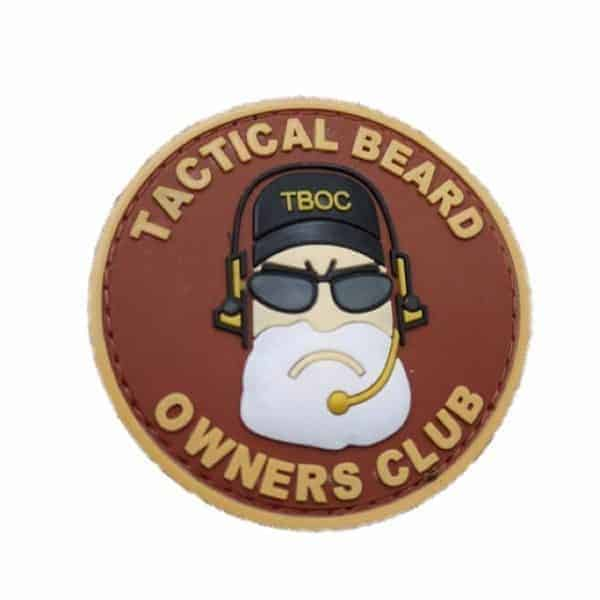 Tactical Beard Owners Club morale patch (Red)