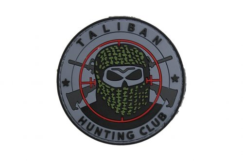 taliban hunting club black Taliban Hunting Club (Grey) Morale Patch