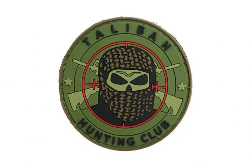 Taliban Hunting Club (Green) Morale Patch