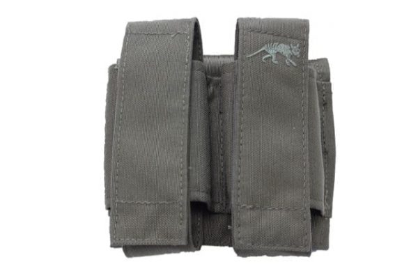 tasmanian tiger 40mm double green Tasmanian Tiger Double 40mm Shell pouch - Olive