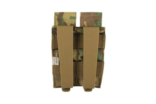 tasmanian tiger double pistol mag pouch multicam 2 Tasmanian Tiger Double Pistol Magazine Pouch MKII