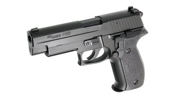 Tokyo Marui Sig P226 With Rail and E2 style mag