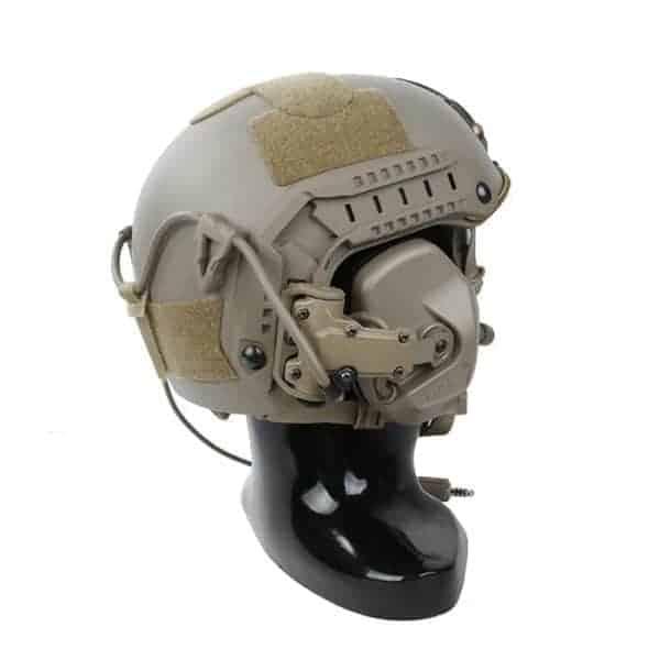 TMC RAC Tactical Headset - Dark Earth