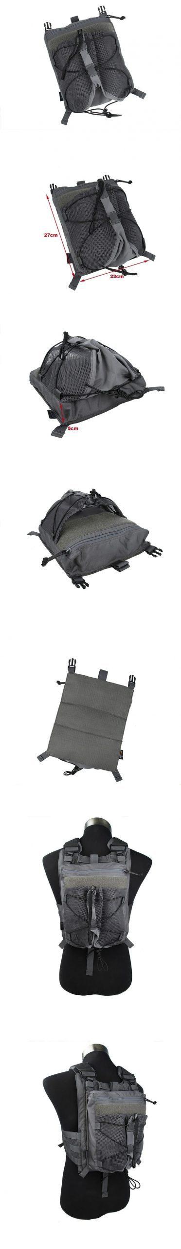TMC Helmet Carrier Back Panel For 420 Plate Carrier