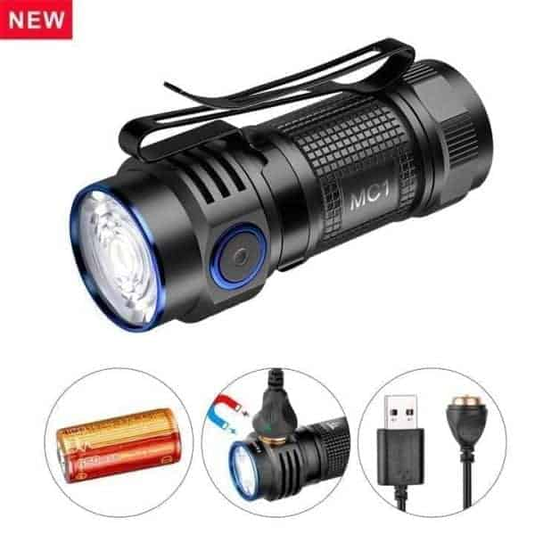 Trust Fire MC1 Rechargeable EDC Flashlight