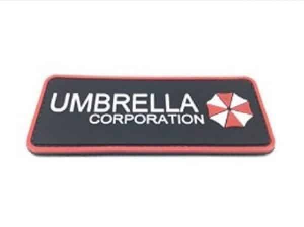 Umbrella Corporation morale patch (Red)