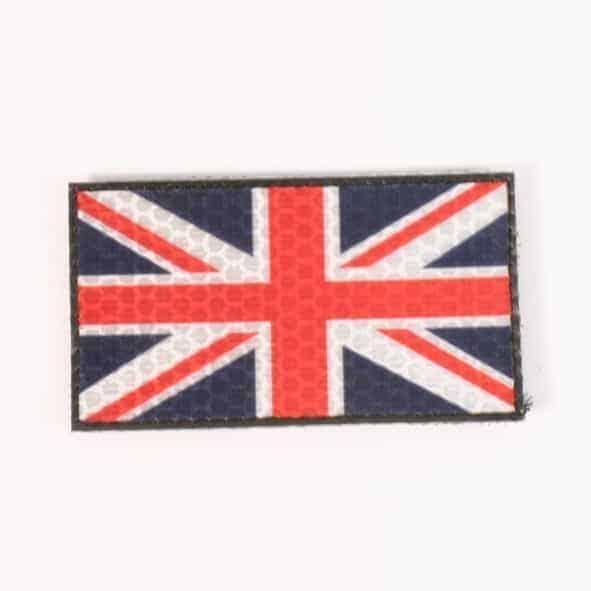 Union Flag IR reflective velcro patch