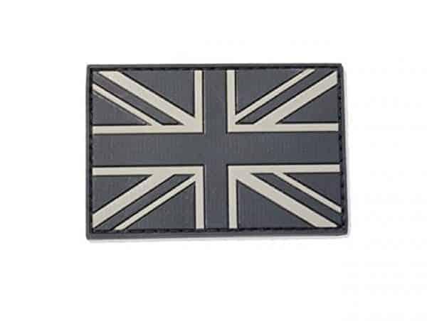 Union flag subdued morale patch (Black)