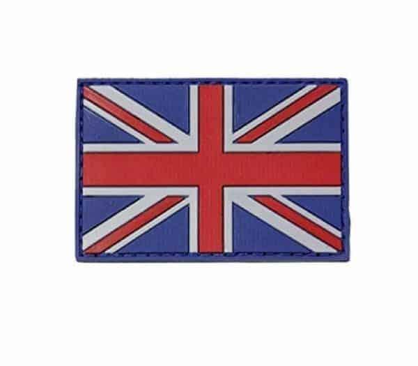 Union flag subdued morale patch (Colour)